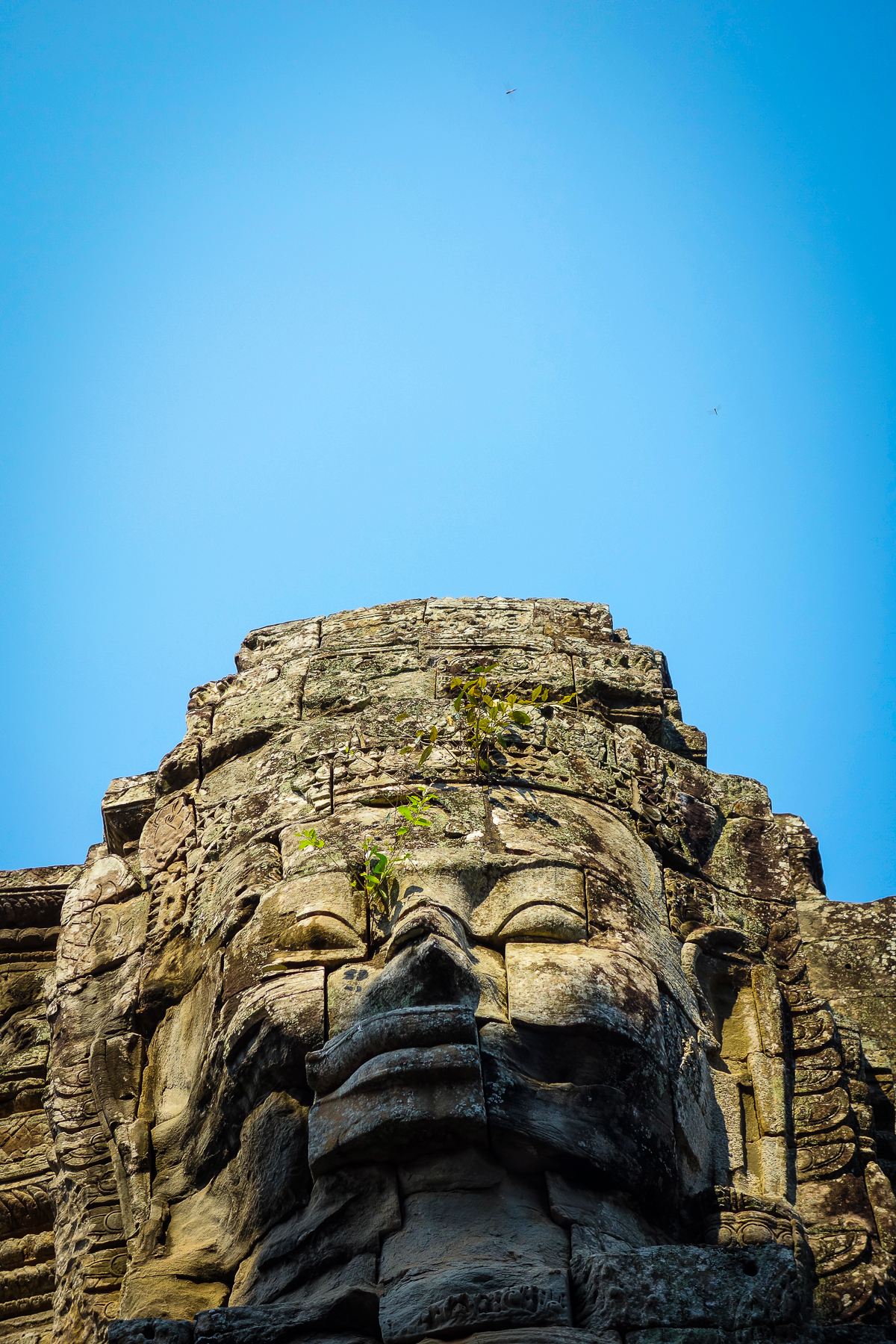 Khmer Smile in Bayon